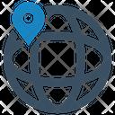 Global Location Global Gps Icon