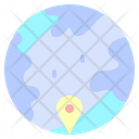 Place Global Map Icon