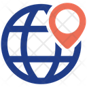 Global Location Business Businessman Icon