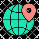 Location Global Location Worldwide Location Icon