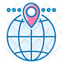 Global Location Local Seo Navigator Icon