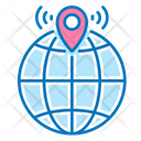 Global Location Geolocation Navigation Icon