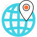 Locate Navigation Map Icon