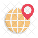 Global Location Global Map Icon