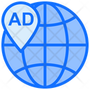 Global Location Global Location Icon