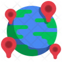 Global Location International Location Location Icon