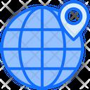 Global Location Worldwide Location Location Icon