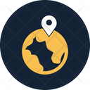 Global Location Global International Icon