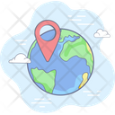 Contact Support Location Icon