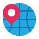 Global Address Position Icon