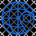 Navigation World Global Icon