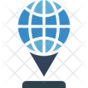 Global locations Icon