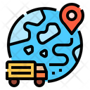 Global Deliver Shipping Icon