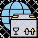 Global Logistics Worldwide Icon