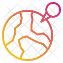 Earth Pin Locations Icon