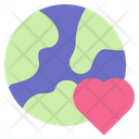 Love Heart Ecology Icon