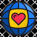 Global Love World Global Icon