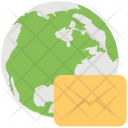 Global Mail Communication Icon