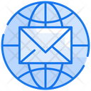 Global Mail International Mail Global Email Icon