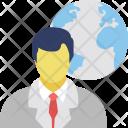 Global Man Icon