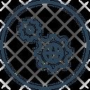 Seo Settings World Icon