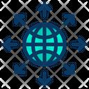 Global World Market Icon
