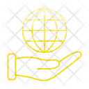 Global Hand Market Icon