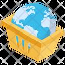 Ecommerce Basket Buy Online Icon