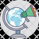 Global Marketing Advertising Icon