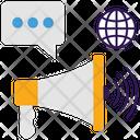 Global Marketing Icon