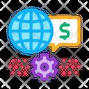 Working World Money Icon