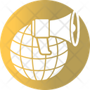 Banner Business Global Marketing Icon