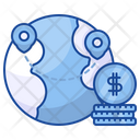 Global Marketing World Dollar Icon