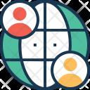Global Marketing Globe Icon
