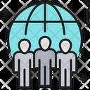 Global Marketing Team Icon