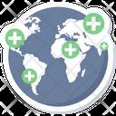 Global Medical Health Icon
