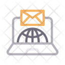 Global Internet Email Icon