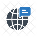 Global Online Message Icon