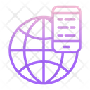 Global Mobile Communication Icon