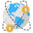Global Money Global Payment Foreign Exchange Icon