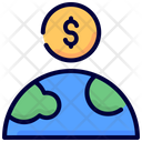 Global Money Fundrising Icon