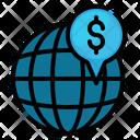 Economy Location Worldwide Icon