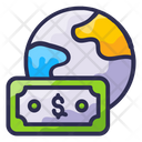 Global Pay Finance Money Icon