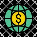 Dollar Global Money Icon