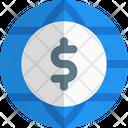 Dollar Globe Icon