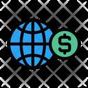Global Money Dollar Money Icon