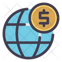 Global Money Global Currency Icon