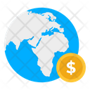 Global Money Global Investment Global Economy Icon