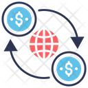 Global Money Transfer Icon