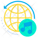 Global Music Sound Icon